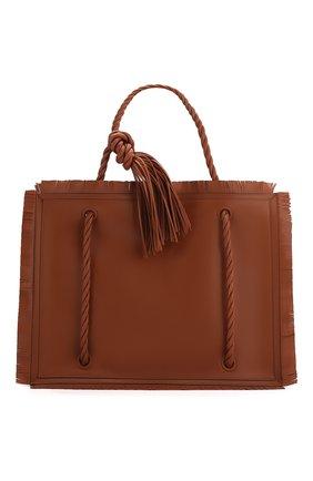 Женская сумка valentino garavani the rope VALENTINO коричневого цвета, арт. TW0B0G72/JMS | Фото 1