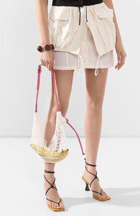 Женская сумка le sac filet JACQUEMUS розового цвета, арт. 201BA19/58400 | Фото 2