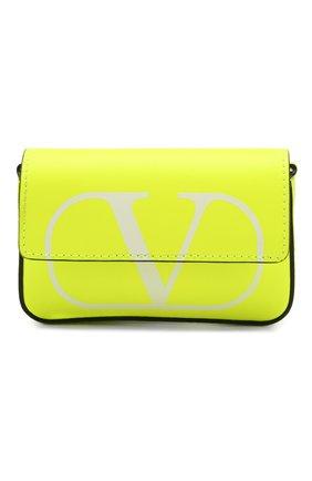 Женская сумка valentino garavani mini VALENTINO желтого цвета, арт. TW0P0T96/BXT | Фото 1