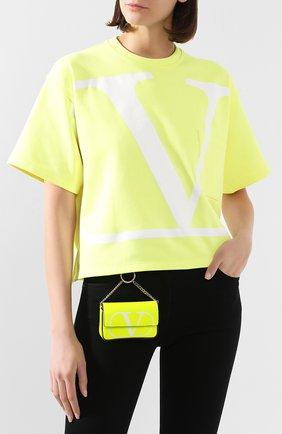 Женская сумка valentino garavani mini VALENTINO желтого цвета, арт. TW0P0T96/BXT | Фото 2