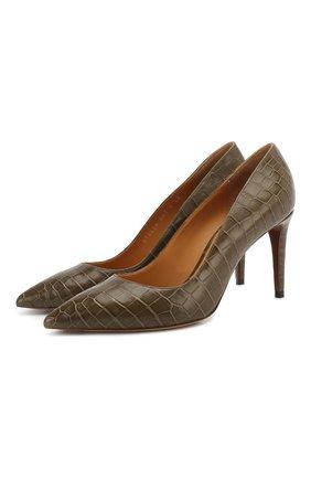 Туфли из кожи крокодила | Фото №1