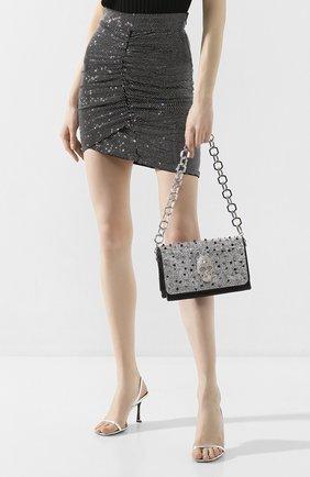 Женская сумка PHILIPP PLEIN черного цвета, арт. P20A WBB0490 PLE009N | Фото 2