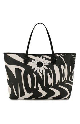 Женская сумка 0 moncler richard quinn MONCLER GENIUS черно-белого цвета, арт. F1-09F-5D700-00-02SE3 | Фото 1