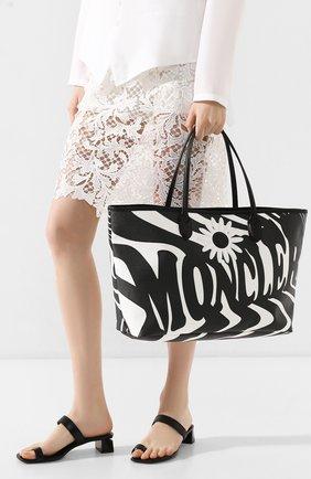 Женская сумка 0 moncler richard quinn MONCLER GENIUS черно-белого цвета, арт. F1-09F-5D700-00-02SE3 | Фото 2