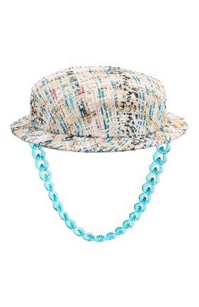 Женская шляпа light tweed MAISON MICHEL светло-голубого цвета, арт. 1007001001/LIGHT TWEED | Фото 1