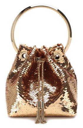 Женский сумка bon bon JIMMY CHOO золотого цвета, арт. B0N B0N/ZMV | Фото 1