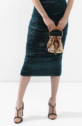 Женский сумка bon bon JIMMY CHOO золотого цвета, арт. B0N B0N/ZMV | Фото 2