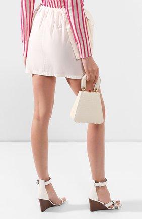 Женская сумка kenny STAUD кремвого цвета, арт. 224-9138 | Фото 2