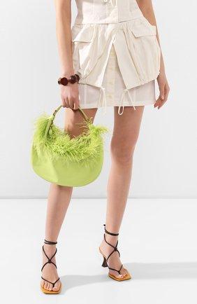 Женская сумка sasha STAUD зеленого цвета, арт. 207-9262 | Фото 2