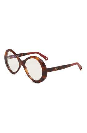Мужские солнцезащитные очки CHLOÉ коричневого цвета, арт. 2743-218 | Фото 1