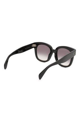 Женские солнцезащитные очки CELINE EYEWEAR черного цвета, арт. CL4002UN 01B | Фото 4