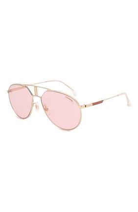 Мужские солнцезащитные очки CARRERA розового цвета, арт. CARRERA 1025 EYR   Фото 1
