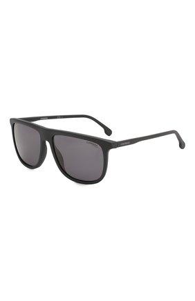 Мужские солнцезащитные очки CARRERA черного цвета, арт. CARRERA 218 003 | Фото 1