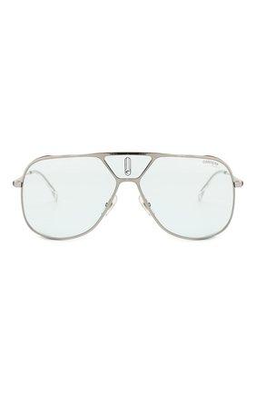 Женские солнцезащитные очки CARRERA голубого цвета, арт. CARRERA LENS3 V84 | Фото 4