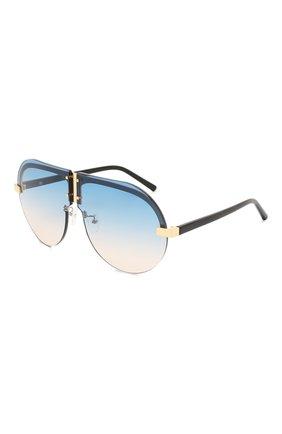 Женские солнцезащитные очки MATTHEW WILLIAMSON голубого цвета, арт. MW252C3 SUN | Фото 1
