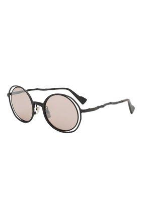 Мужские солнцезащитные очки KUB0RAUM черного цвета, арт. H10 BB   Фото 1