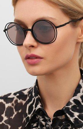 Мужские солнцезащитные очки KUB0RAUM черного цвета, арт. H10 BB   Фото 2