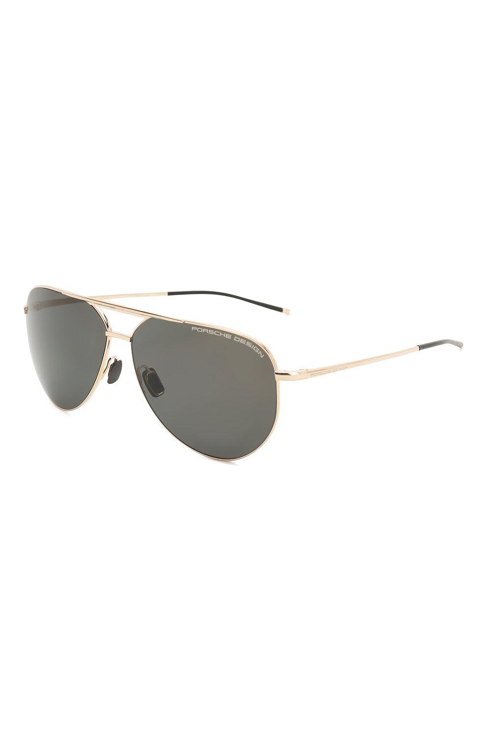 Мужские солнцезащитные очки PORSCHE DESIGN коричневого цвета, арт. 8688-B | Фото 1