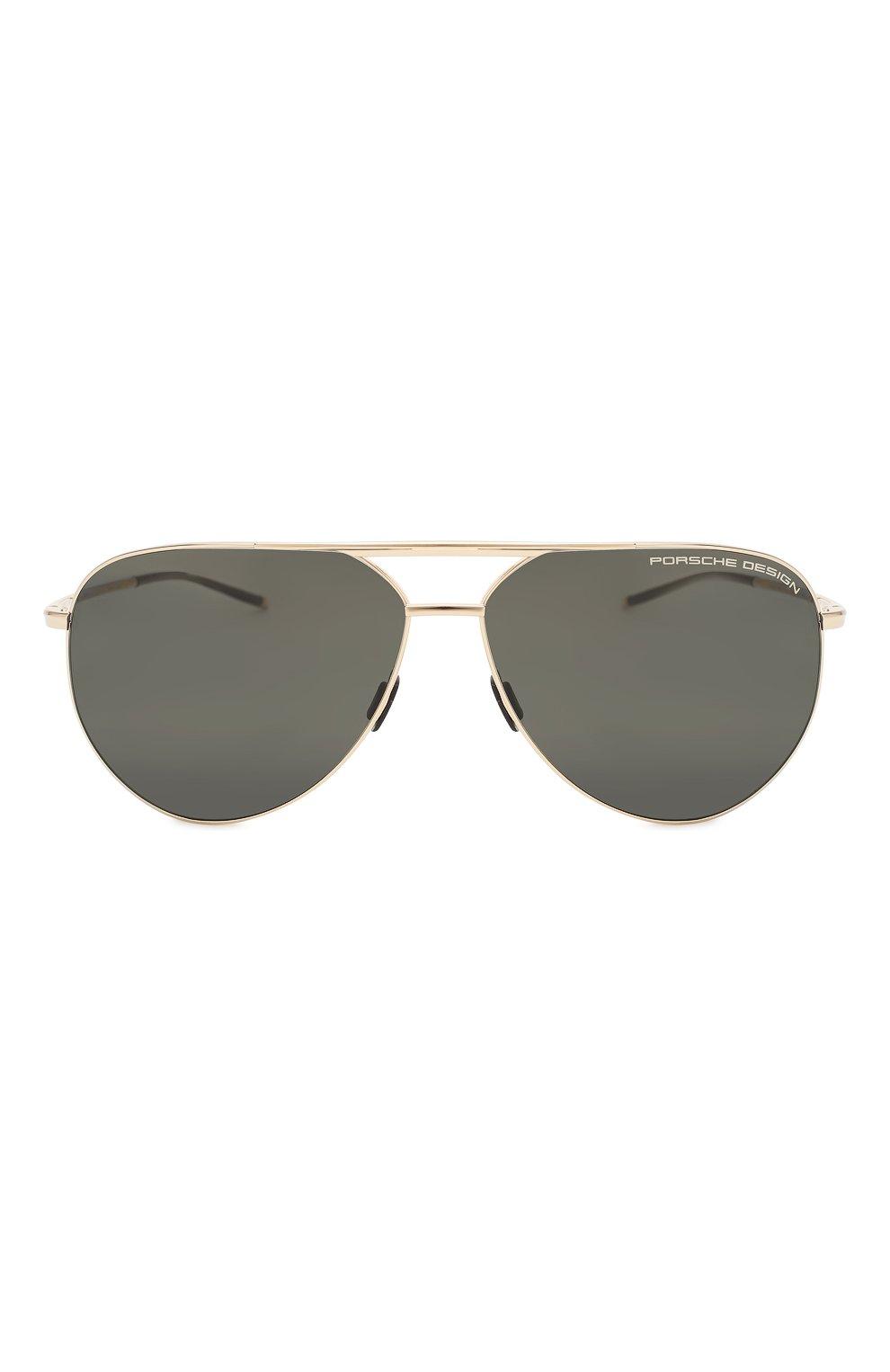 Мужские солнцезащитные очки PORSCHE DESIGN коричневого цвета, арт. 8688-B | Фото 3