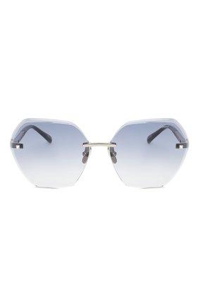 Женские солнцезащитные очки CHOPARD синего цвета, арт. D42S 579 | Фото 3