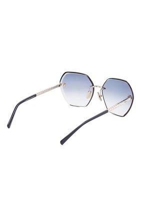 Женские солнцезащитные очки CHOPARD синего цвета, арт. D42S 579 | Фото 4