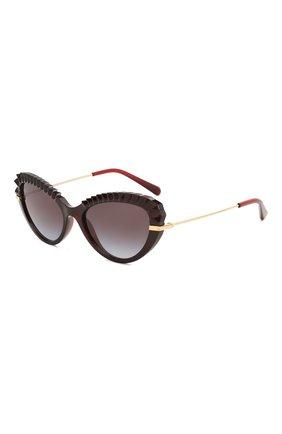 Мужские солнцезащитные очки DOLCE & GABBANA коричневого цвета, арт. 6133-550/8G | Фото 1