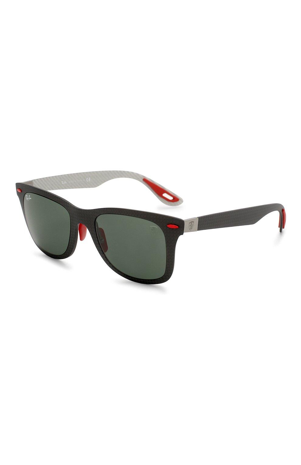 Женские солнцезащитные очки RAY-BAN черного цвета, арт. 8395M-F05471 | Фото 1