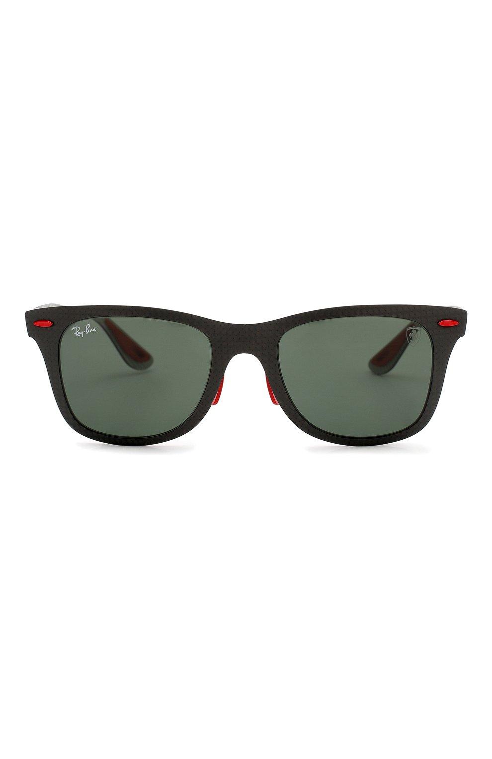 Женские солнцезащитные очки RAY-BAN черного цвета, арт. 8395M-F05471 | Фото 4