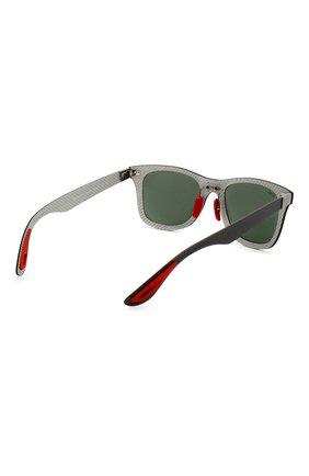 Женские солнцезащитные очки RAY-BAN черного цвета, арт. 8395M-F05471 | Фото 5