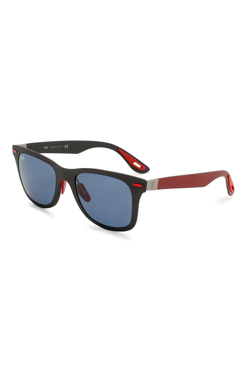 Женские солнцезащитные очки RAY-BAN красного цвета, арт. 8395M-F05580 | Фото 1