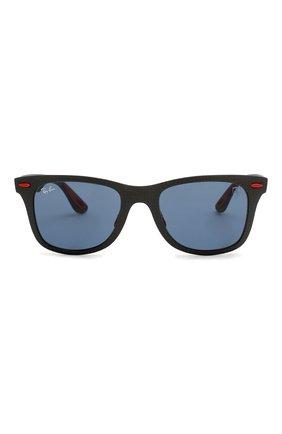 Женские солнцезащитные очки RAY-BAN красного цвета, арт. 8395M-F05580 | Фото 4