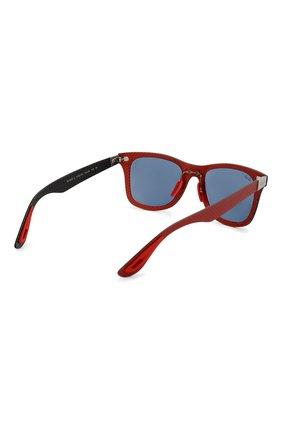 Женские солнцезащитные очки RAY-BAN красного цвета, арт. 8395M-F05580 | Фото 5
