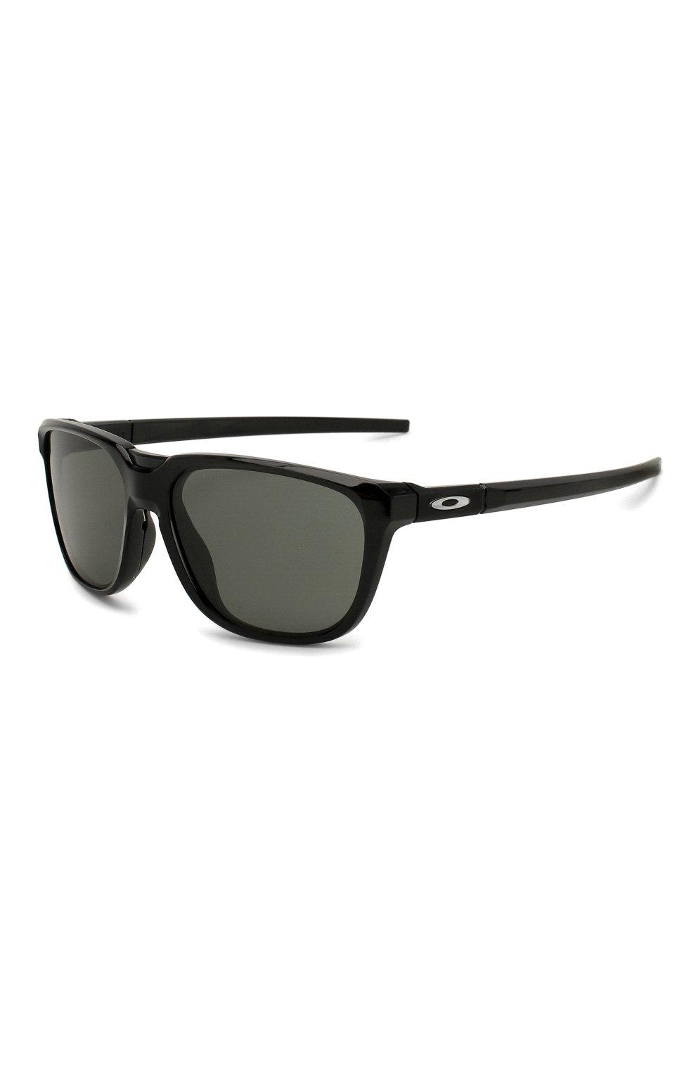 Мужские солнцезащитные очки OAKLEY черного цвета, арт. 9420-942001   Фото 1