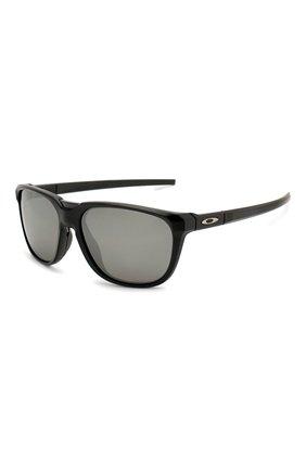 Мужские солнцезащитные очки OAKLEY черного цвета, арт. 9420-942008 | Фото 1
