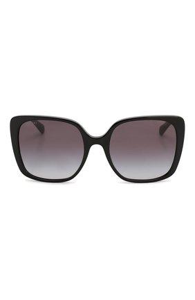 Женские солнцезащитные очки BVLGARI черного цвета, арт. 8225B-501/8G | Фото 3