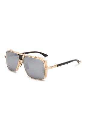 Мужские солнцезащитные очки DITA золотого цвета, арт. EPLX.5/02 | Фото 1