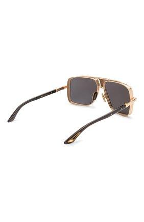 Мужские солнцезащитные очки DITA золотого цвета, арт. EPLX.5/02 | Фото 3