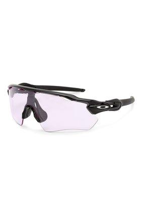 Женские солнцезащитные очки OAKLEY розового цвета, арт. 9208-920898 | Фото 1