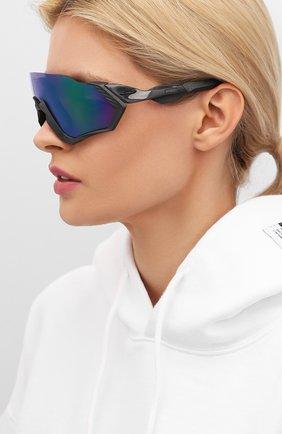 Женские солнцезащитные очки OAKLEY синего цвета, арт. 9401-940115 | Фото 2