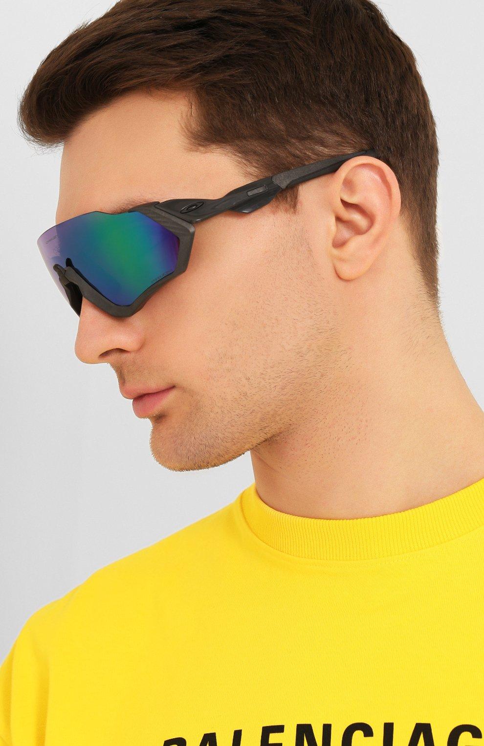 Женские солнцезащитные очки OAKLEY синего цвета, арт. 9401-940115 | Фото 3