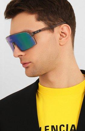 Мужские солнцезащитные очки OAKLEY синего цвета, арт. 9406-940610 | Фото 2