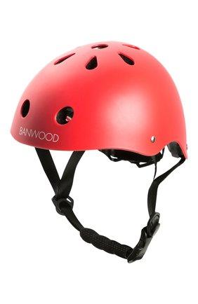 Детского шлем BANWOOD красного цвета, арт. BW-HELMET-RED | Фото 1