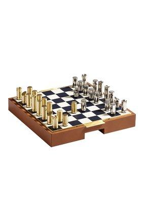 Игрушка шахматы и шашки fowler RALPH LAUREN коричневого цвета, арт. 682736535 | Фото 1