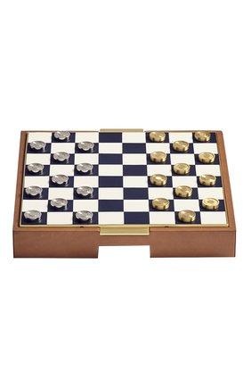 Игрушка шахматы и шашки fowler RALPH LAUREN коричневого цвета, арт. 682736535 | Фото 2