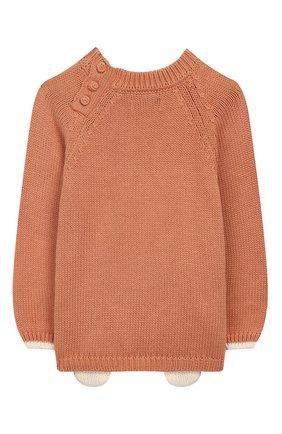 Детский пуловер APERO коричневого цвета, арт. AS533_2TE | Фото 2