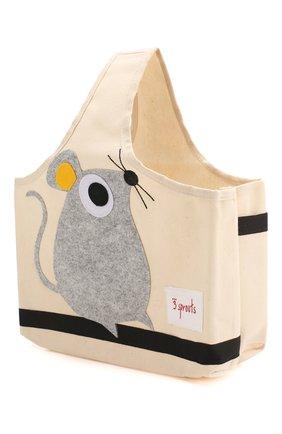 Детского сумка для игрушек 3 SPROUTS серого цвета, арт. 67661 | Фото 2