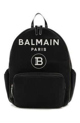 Детская рюкзак BALMAIN черного цвета, арт. 6M0918/ME360 | Фото 1