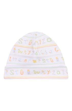 Детского хлопковая шапка KISSY KISSY разноцветного цвета, арт. KN504170N | Фото 1