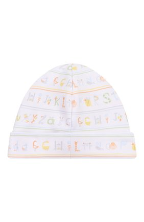 Детского хлопковая шапка KISSY KISSY разноцветного цвета, арт. KN504170N | Фото 2