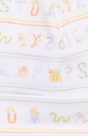Детского хлопковая шапка KISSY KISSY разноцветного цвета, арт. KN504170N   Фото 3